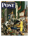 """Returning Home From College,"" Saturday Evening Post Cover, June 5, 1948 Giclee Print by Stevan Dohanos"