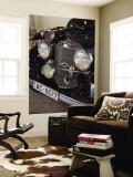 1930s-Era Mercedes Cars, Riga Motor Museum, Riga, Latvia Reproduction murale par Walter Bibikow