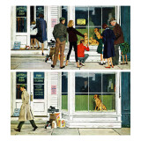 """Puppy Sellout,"" April 30, 1960 Giclee Print by George Hughes"
