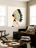 New Mexico Wall Mural by Charmaine Olivia