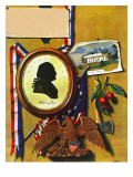 &quot;Commemorating George Washington,&quot; February 24, 1945 Giclee Print by John Atherton