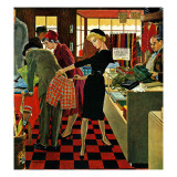 """Bermuda Shorts,"" March 12, 1960 Giclee Print by George Hughes"