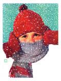 """Bundled Up,"" Jan/Feb 98 Giclee Print by Douglas Crockwell"