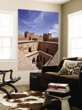 Deserted Kasbah on the Road of a ThoUSAnd Kasbahs, Tenirhir, Morocco Vægplakat af William Sutton