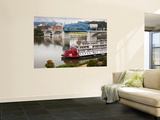Delta Queen Riverboat, Tennessee River, Chattanooga, Tennessee, USA Wall Mural by Walter Bibikow