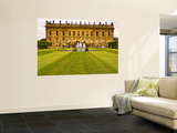 Historic Chatsworth House and Gardens Wall Mural by Glenn Beanland