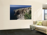 Blue Grotto Rock Formation, Wied Iz-Zurrieq, Malta Wall Mural by Walter Bibikow