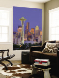 Skyline From Kerry Park, Seattle, Washington, USA Wall Mural by Jamie &amp; Judy Wild