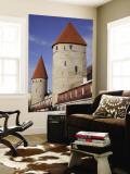 Old City Walls, Tallinn, Estonia Wall Mural by Walter Bibikow