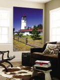 Cape Blanco Lighthouse, Port Orford, Oregon, USA Wall Mural by Bernard Friel