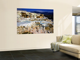 Minerva Terrace, Mammoth Hot Springs, Yellowstone National Park, Wyoming, USA Wall Mural by Bernard Friel