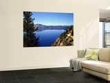 Crater Lake in Crater Lake National Park, Oregon, USA Wall Mural by Bernard Friel