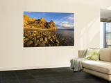 Rocky Shoreline on Isla Carmen in the Gulf of California, Loreto, Mexico Wall Mural by Chuck Haney