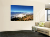 Dante's View in the Black Mountains, Death Valley's Badwater Basin and the Panamint Range, CA Wall Mural by Bernard Friel