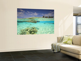 South Huvadhoo Atoll, Southern Maldives, Indian Ocean reproduction murale géante par Stuart Westmorland