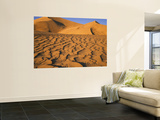 Sand Dune Patterns at Eureka Dunes, Death Valley National Park, California, USA Wall Mural by Dennis Flaherty
