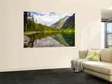Avalanche Lake, Glacier National Park, Montana, USA Premium Wall Mural by Jamie & Judy Wild