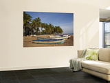 Playa Los Gringos Beach, Nagua, North Coast, Dominican Republic Wall Mural by Walter Bibikow