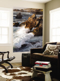 Surf at Soberanes Wall Mural by Douglas Steakley