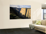 Black Canyon of the Gunnison National Monument on the Gunnison River From Near East Portal, CO Wall Mural by Bernard Friel