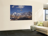Glider Pilot Racing in Fai World Sailplane Grand Prix, Andes Mountains, Chile Wall Mural by David Wall