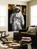 Astronaut Moonwalk Suit at the U.S. Space & Rocket Center, Huntsville, Alabama, USA Wall Mural by Walter Bibikow