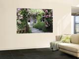 Cafe Les Nymphias in Giverny, Opposite the Entrance to Monet's Gardens Fototapete von Barbara Van Zanten