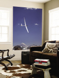 Racing in Fai World Sailplane Grand Prix, Andes Mountains, Chile Wall Mural by David Wall