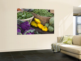 Fresh Produce at the Farmers Market in Whitefish, Montana, USA Wall Mural by Chuck Haney
