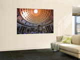 Interior of the Pantheon Wall Mural by Glenn Beanland