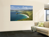New Chums Beach, and Motuto Point, Coromandel Peninsula, North Island, New Zealand Wall Mural by David Wall