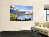 Saint Mary Lake and Wild Goose Island, Glacier National Park, Montana, USA Wall Mural by Jamie & Judy Wild