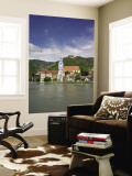 Castle, Danube River, Durnstein, Wachau Valley, Austria Wall Mural by Jim Engelbrecht