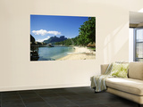 Bora Bora, French Polynesia Wall Mural by Douglas Peebles