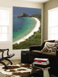 New Chums Beach and Motuto Point, Coromandel Peninsula, North Island, New Zealand Wall Mural by David Wall
