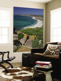 View From the Spanish Tower, Tharros, Sardinia, Italy Wall Mural by Walter Bibikow