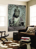 Statue of Buddha at Tenryu-Ji Temple, Sagano District Wall Mural by Brent Winebrenner