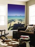 Lanikai Beach, Kailua, Hawaii, USA Art Mural par Douglas Peebles