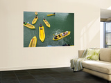 Kayaks on Ao Phang Nga Wall Mural by Austin Bush