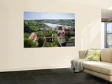 View From Oberhaus Fortress, Danube River, Passau, Bavaria, Germany Wall Mural by Jim Engelbrecht