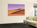 Hikers at Mesquite Flat Sand Dunes Wall Mural by Witold Skrypczak