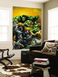 The Thing No.3 Cover: Hulk and Thing Wall Mural by Andrea Di Vito