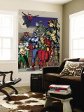 Marvel Holiday Special No.1 Group: Captain America Wall Mural by Reilly Brown