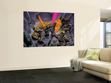 X-Men/Fantastic Four N1 Cover: Thing Wall Mural by Pat Lee