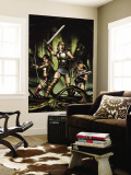 Thor Son Of Asgard No.1 Cover: Thor, Sif and Balder Wall Mural