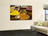 Turkish Saffron, Acting as Natural Viagra, for Sale at Spice Bazaar Wall Mural by George Tsafos