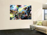 Ultimate Power 6 Group: Scarlet Witch Wall Mural by Greg Land