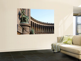North Hall of Triumphal Arch at Parc Du Cinquantenaire Wall Mural by Bruce Bi
