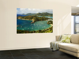 Overview of English Harbour from Shirley Heights Wall Mural by Veronica Garbutt
