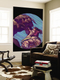 Hercules No.2 Cover: Hercules and Achelous Fighting Wall Mural by Mark Texeira